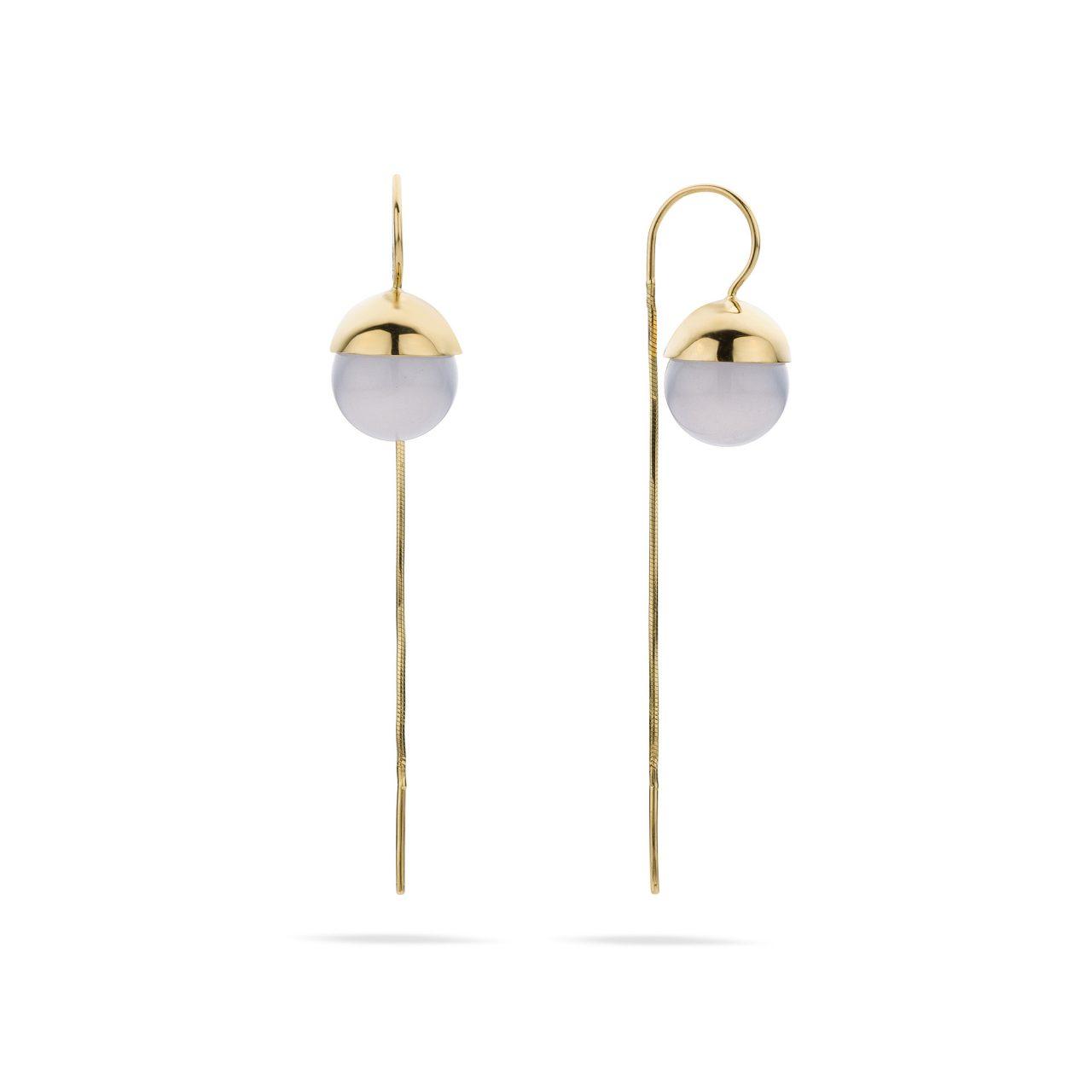 chalcedoon oorbellen juweel elegant fine jewelry